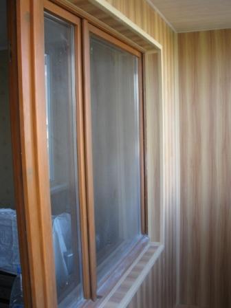Оконные откосы. внутренняя отделка балконов и лоджий. откос-.